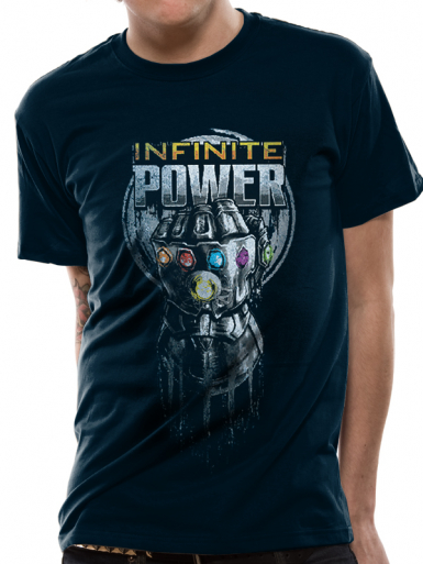 Infinite Power Glove - Avengers Infinity War Mens T-shirt