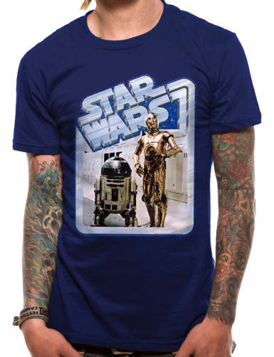 Droids - Star Wars Mens T-shirt