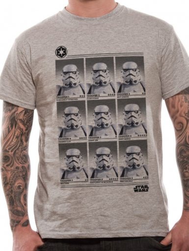 Stormtrooper Yearbook - Star Wars Mens T-shirt