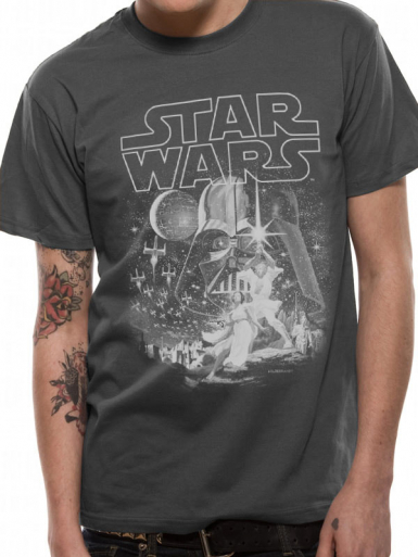 New Hope - Star Wars Mens T-shirt