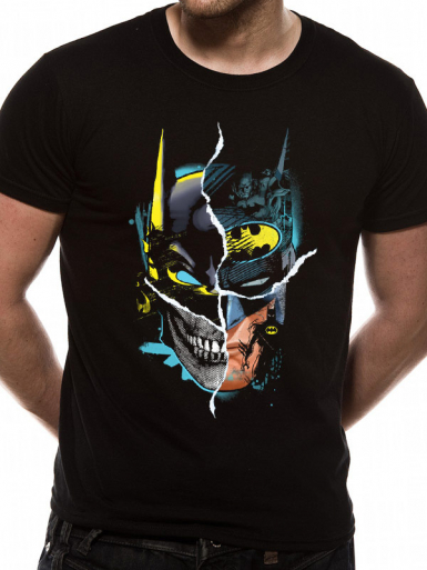 Gotham Face - Batman Mens T-shirt