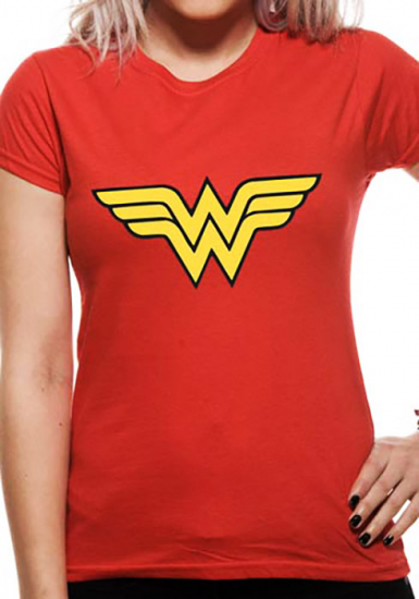 Logo - Wonder Woman  T-shirt