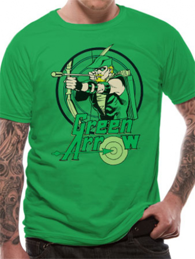 Circle - Green Arrow Mens T-shirt