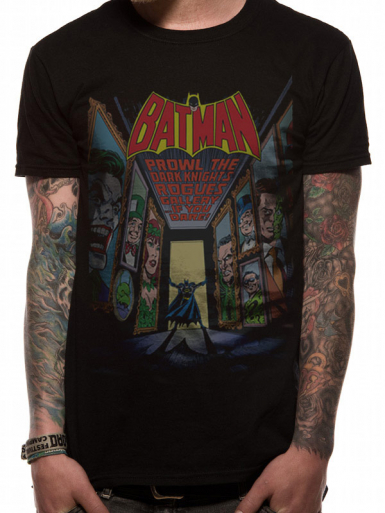 Villians - Batman Mens T-shirt
