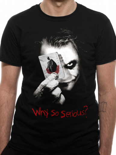 Why So Serious - Batman Mens T-shirt