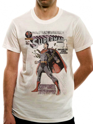 Amazing New Adventures - Superman Mens T-shirt