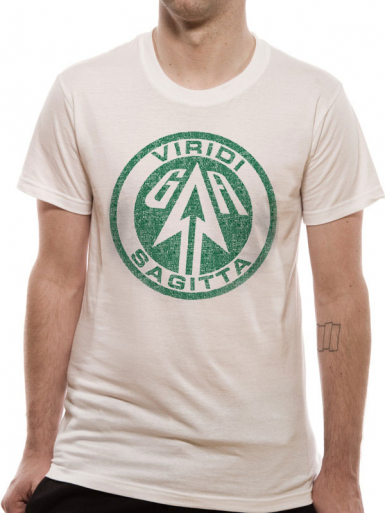 Viridi Sagitta - Green Arrow Mens T-shirt