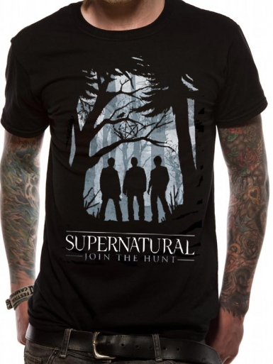 Group - Supernatural Mens T-shirt