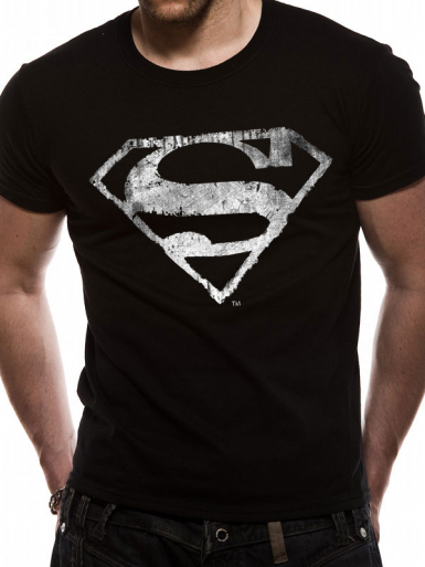 Logo - Superman Mens T-shirt