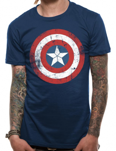 Shield - Captain America Mens T-shirt