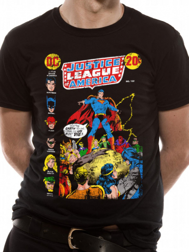 Superman Speech - Justice League Mens T-shirt