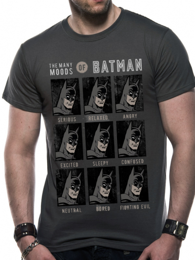 Moods Of Batman - Batman Mens T-shirt