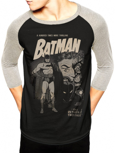 Two Face - Batman Mens T-shirt