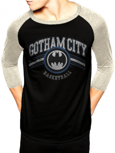 Gotham Basketball - Batman Mens T-shirt