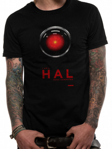Hal-9000 - 2001 A Space Odyssey Mens T-shirt