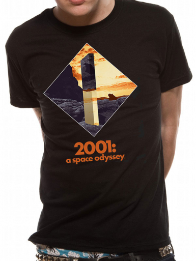 Obelisk - 2001 A Space Odyssey Mens T-shirt