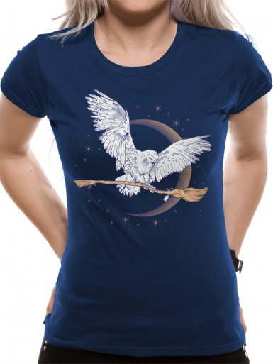 Hedwig Broom - Harry Potter  T-shirt