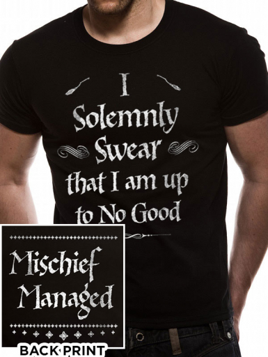 Solemnly Swear - Harry Potter Mens T-shirt