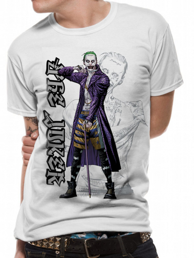 Joker Cartoon - Batman Mens T-shirt