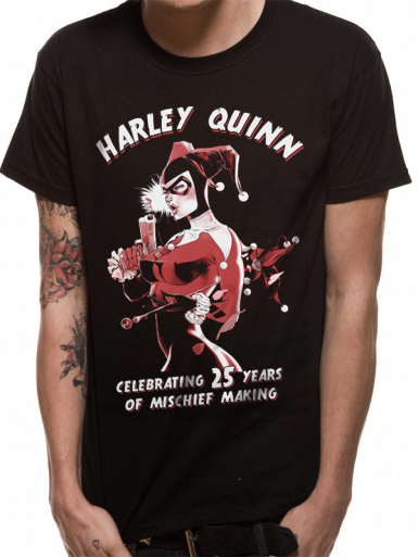 Harley Quinn Mischief - Suicide Squad Mens T-shirt