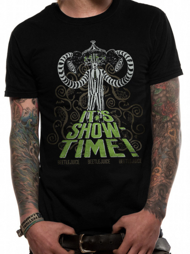 Showtime - Beetlejuice Mens T-shirt