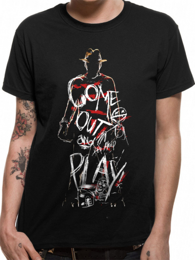Come Out To Play - A Nightmare On Elm Street Mens T-shirt