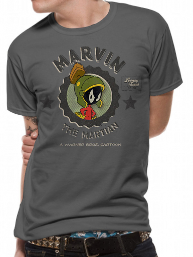 Marvin Martian - Looney Tunes Mens T-shirt