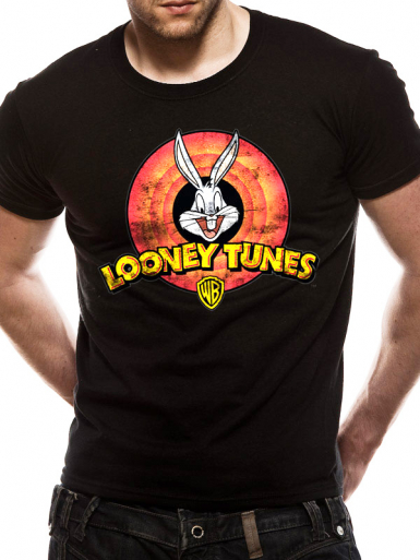 Logo - Looney Tunes Mens T-shirt