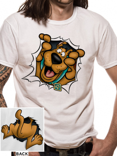 Rip Through - Scooby Doo Mens T-shirt