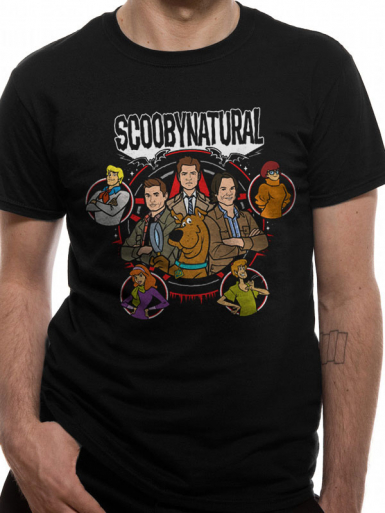 Scoobynatural - Scooby Doo Mens T-shirt