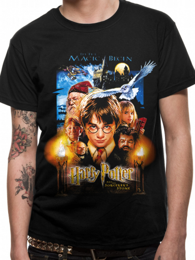 Sorcerer's Stone - Harry Potter Mens T-shirt