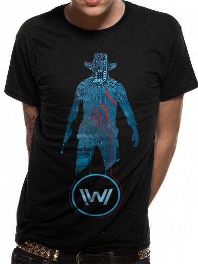 Blue Man - Westworld Mens T-shirt