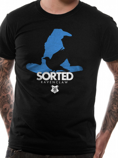 Sorted House Ravenclaw - Harry Potter Mens T-shirt