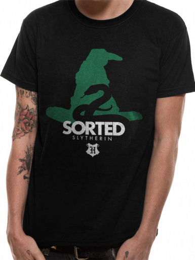 Sorted House Slytherin - Harry Potter Mens T-shirt
