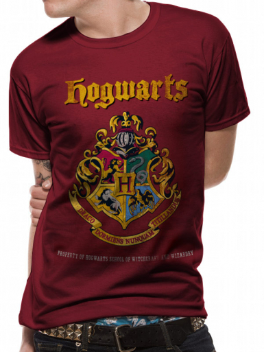 Hogwarts Crest - Harry Potter Mens T-shirt