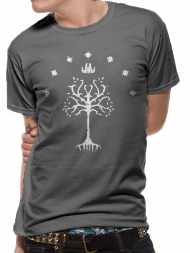 Tree Of Gondor - Lord Of The Rings Mens T-shirt
