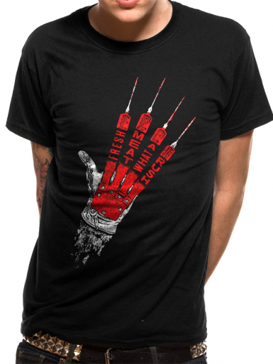 Fresh Meat - A Nightmare On Elm Street Mens T-shirt