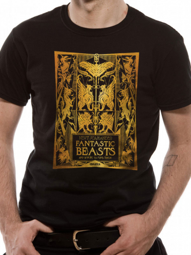 Book - Fantastic Beasts Crimes Of Grindelwald Mens T-shirt