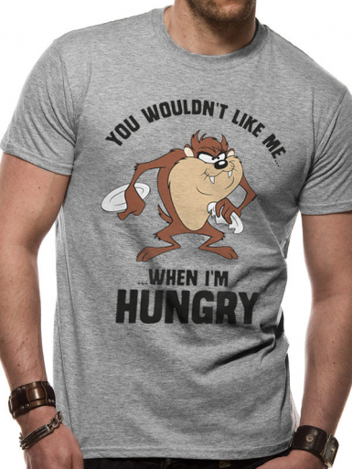 Taz Hungry - The Road Runner Show Mens T-shirt