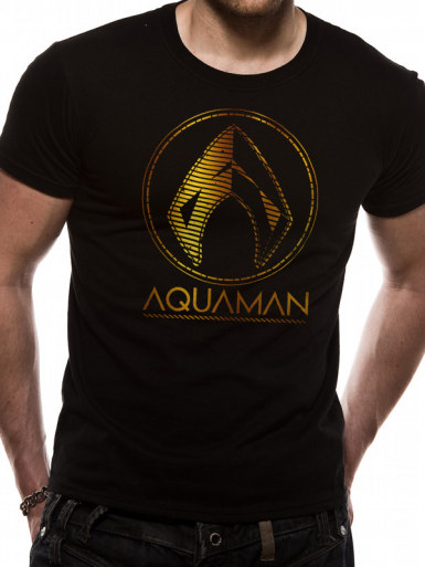 Symbol - Aquaman Mens T-shirt