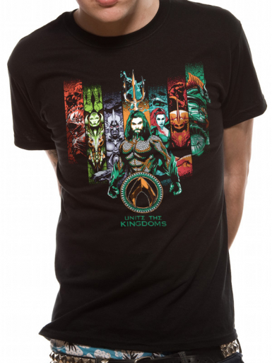 Unite The Kingdoms - Aquaman Mens T-shirt