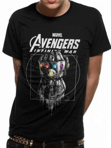 Gauntlet - Avengers Infinity War Mens T-shirt