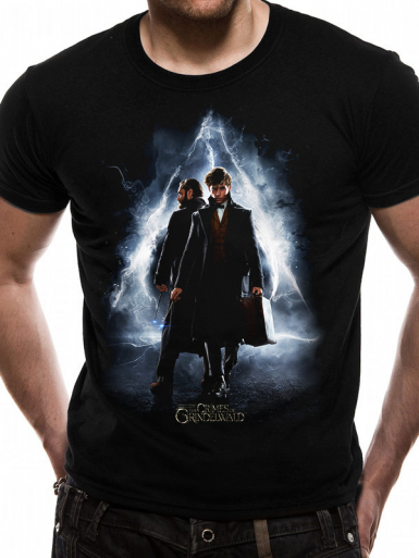Poster - Fantastic Beasts Crimes Of Grindelwald Mens T-shirt