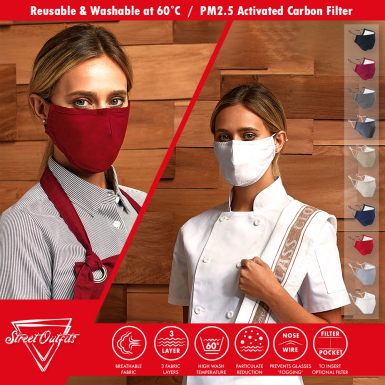 Street Outfits - 3-Ply Mask