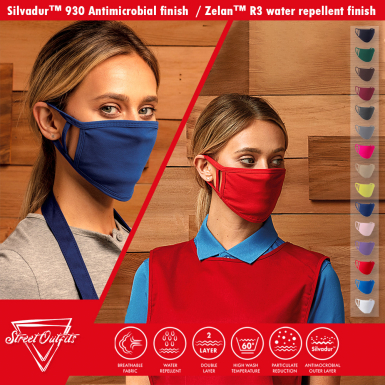 Street Outfits - Classic 2-Ply Mask