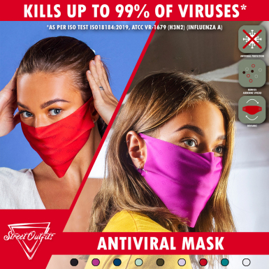 Street Outfits - Antiviral Face Mask