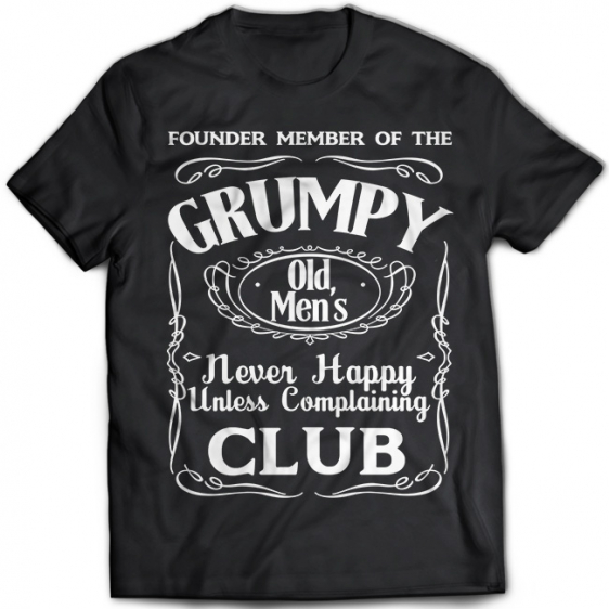 Grumpy Old Men's Club 1