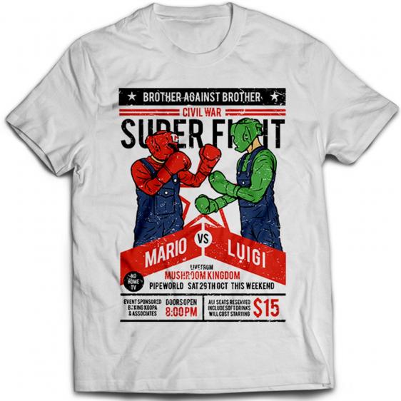 Mario VS Luigi 1