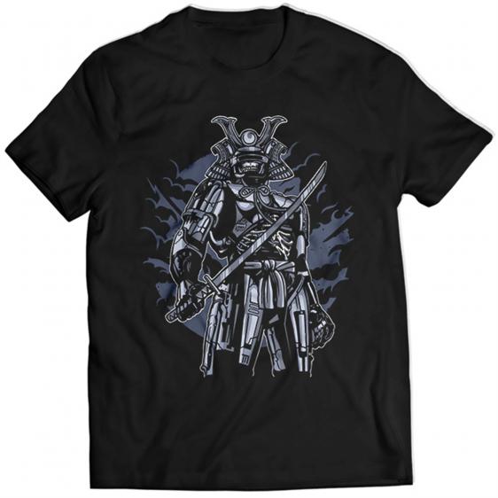 Samurai Robot Skull 1