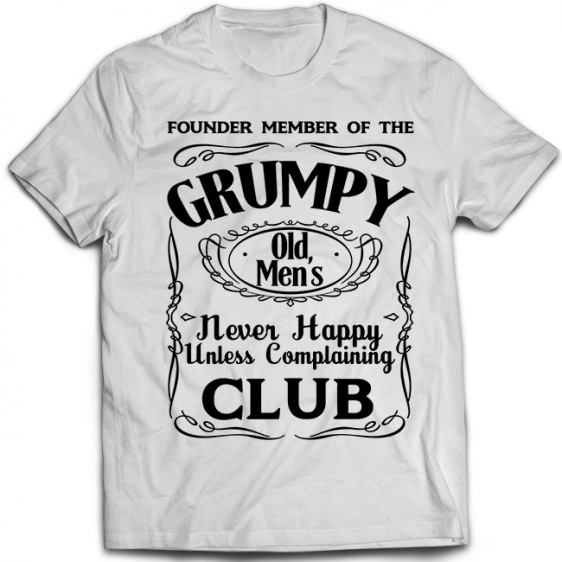 Grumpy Old Men's Club 1
